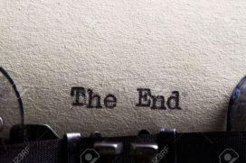 typewriter-writing-the-end